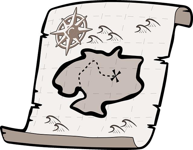 mapa ostrova