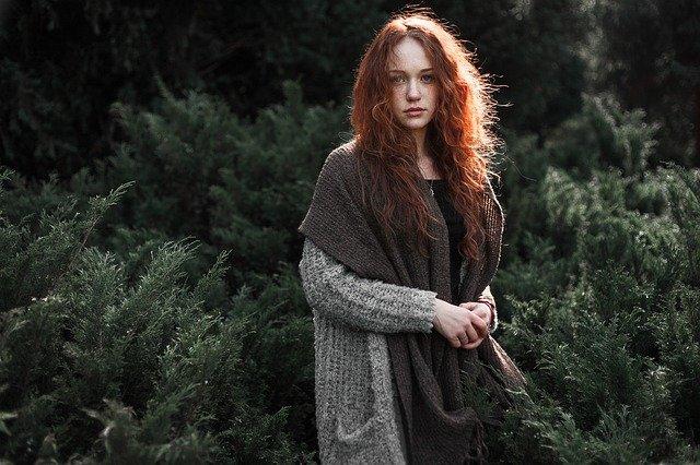 zrzka v lese